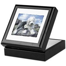 OES on the rocks Keepsake Box