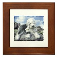 OES on the rocks Framed Tile