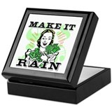 Make It Rain Keepsake Box