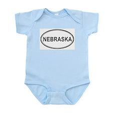 Nebraska Euro Infant Creeper