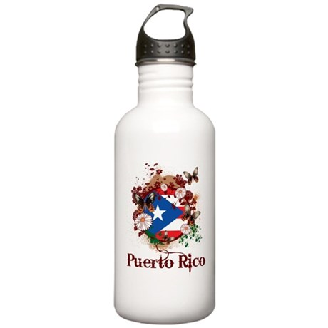 Butterfly Puerto Rico Stainless Water Bottle 1.0L