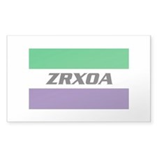 ZRXOA Logo Decal