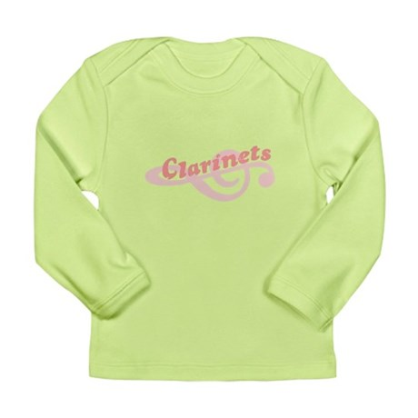 Clarinets Long Sleeve Infant T-Shirt