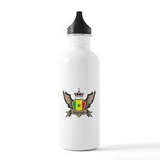 Senegal Emblem Water Bottle