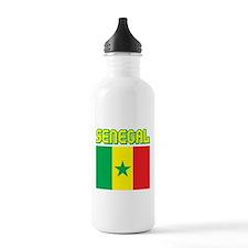Senegal Flag Water Bottle