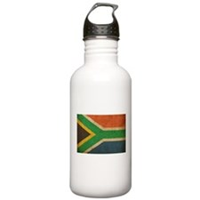 Vintage South Africa Flag Water Bottle