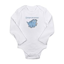 Ethanceratops Long Sleeve Infant Bodysuit