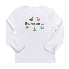 Ryanosaurus Long Sleeve Infant T-Shirt