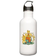 United Kingdom Coat Of Arms Water Bottle