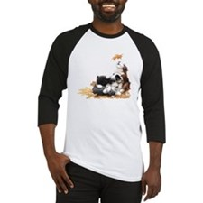 Funny Bearded collie Baseball Jersey