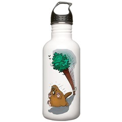 Funny Beaver Stainless Water Bottle 1.0L