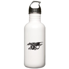 Tribal Winged Dragon Stainless Water Bottle 1.0L