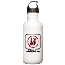 cauliflower ear Sports Water Bottle
