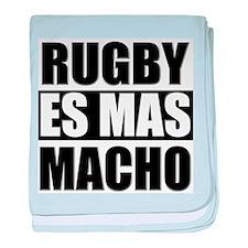 Rugby Es Mas Macho baby blanket