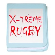 X-treme Rugby baby blanket
