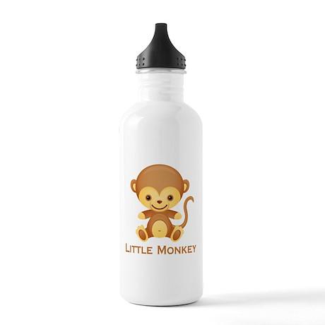 Little Monkey Stainless Water Bottle 1.0L