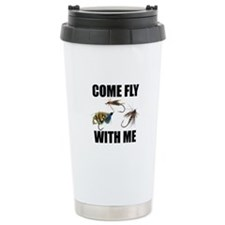 Come Fly With Me Stainless Steel Travel Mug