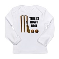 This Is How I Roll Cricket Long Sleeve Infant T-Sh