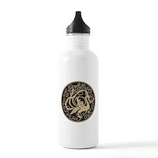 Celtic Peacock Water Bottle
