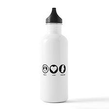 Peace Love Penguin Water Bottle