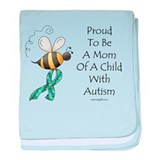 Autism Mom baby blanket