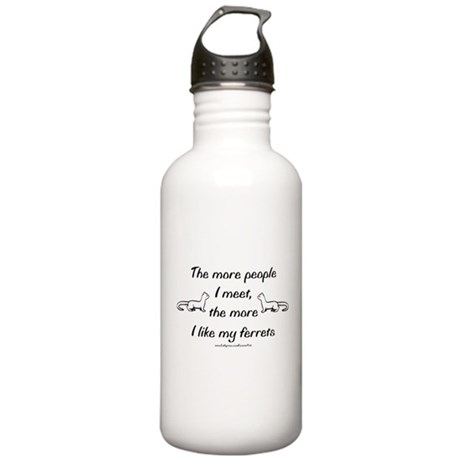 Like My Ferrets Stainless Water Bottle 1.0L