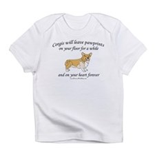 Corgi Pawprints Infant T-Shirt