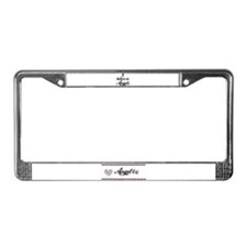 I BELEIVE IN ANGELS License Plate Frame