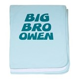 Big Bro Owen baby blanket