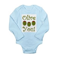 Ollive You Long Sleeve Infant Bodysuit