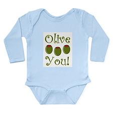 Ollive You Long Sleeve Infant Bodysuit