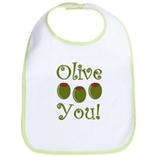 Ollive You Bib