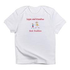 Logan & Grandma - Buddies Infant T-Shirt