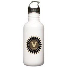 Vegan Symbol Water Bottle