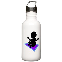 Cute Yoga Baby Water Bottle