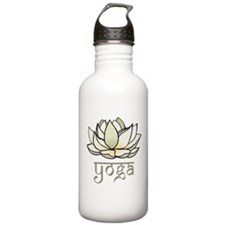 Lotus Yoga Water Bottle
