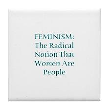 Feminism Tile Coaster