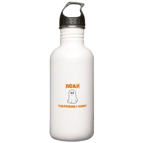 Noah the Friendly Ghost Stainless Water Bottle 1.0