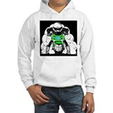ZRX Burn Out Green Hoodie