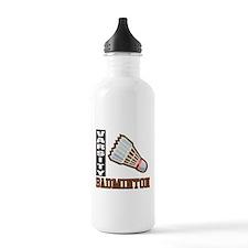Badminton Varsity Water Bottle