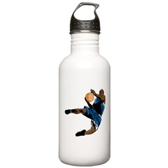 Basketball Player Water Bottle