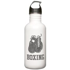 Vintage Boxing Sports Water Bottle