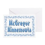 McGregor Minnesnowta Greeting Card