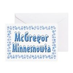 McGregor Minnesnowta Greeting Cards (Pk of 20)