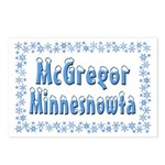 McGregor Minnesnowta Postcards (Package of 8)
