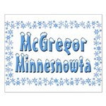 McGregor Minnesnowta Small Poster