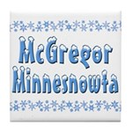 McGregor Minnesnowta Tile Coaster