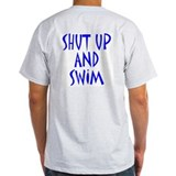 Shut Up and Swim Ash Grey T-Shirt