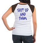 Shut Up and Swim Women's Cap Sleeve T-Shirt