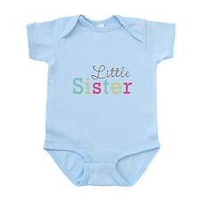Little Sis Polka Dot Infant Bodysuit